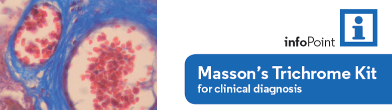 Masson's Trichrome Kit for clinical diagnosis
